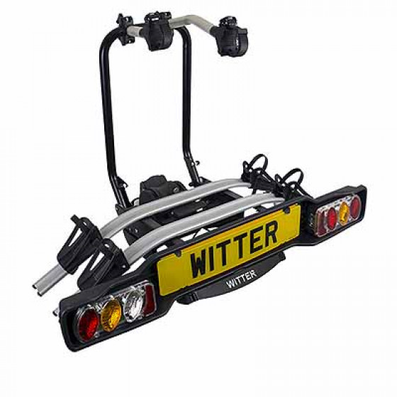 Witter Innovative towball Mounted Tilting 2 Bike Cycle Carrier
