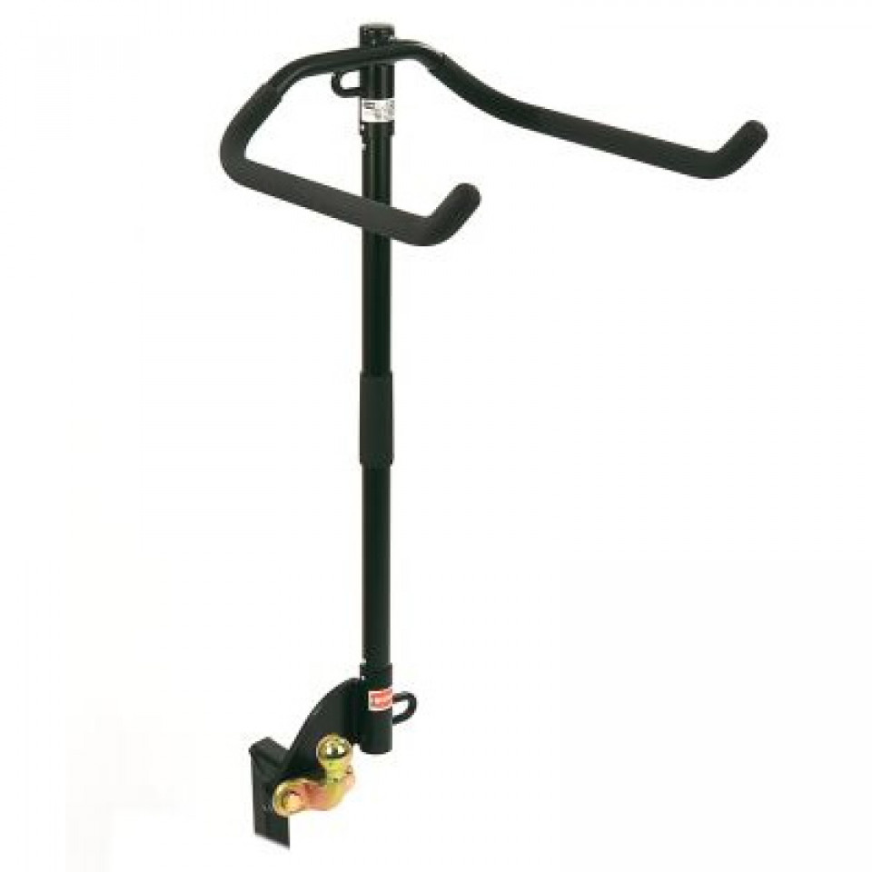 Flange Towbar Mounted Cycle Carrier for up to 4 bikes (includes retaining strap with metal buckle)
