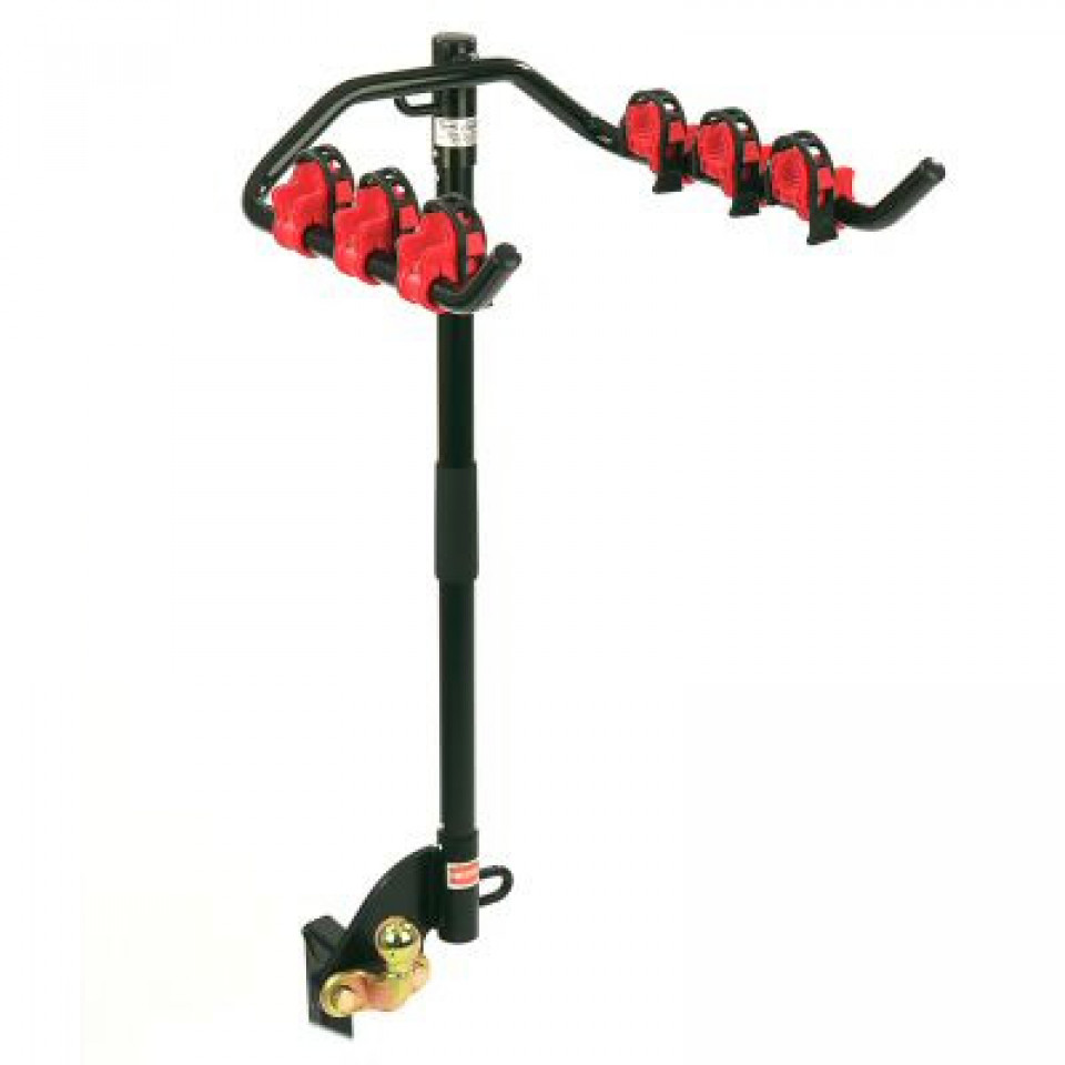 Flange Towbar Mounted Cycle Carrier for 3 bikes (with Clamps)