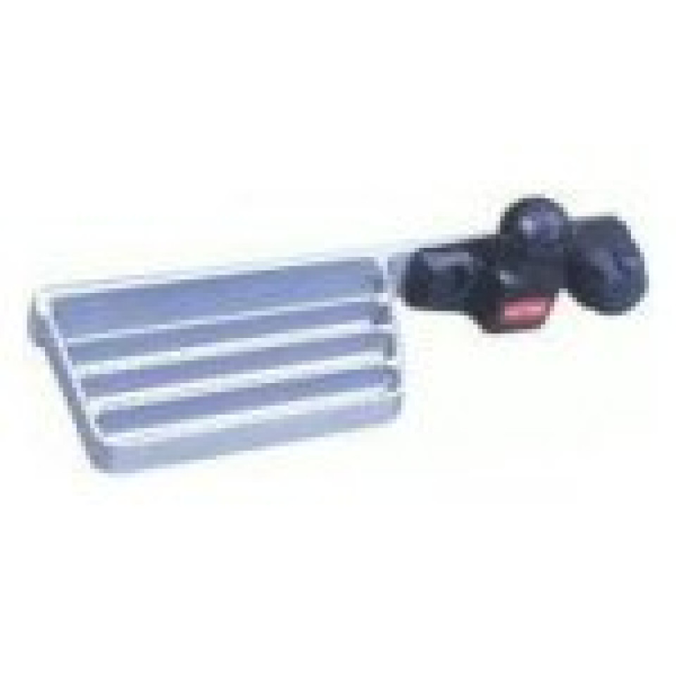 Single Left Hand Sided Towbar Step (Zinc plated)