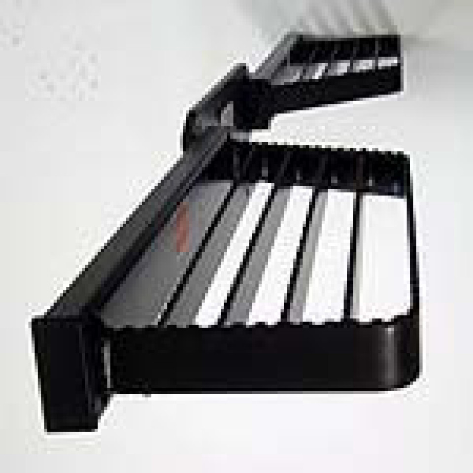 Large Double Sided Towbar Step (Black)