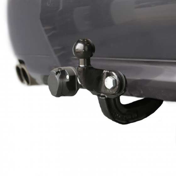 Witter Fixed Flange Towbar (two hole faceplate)