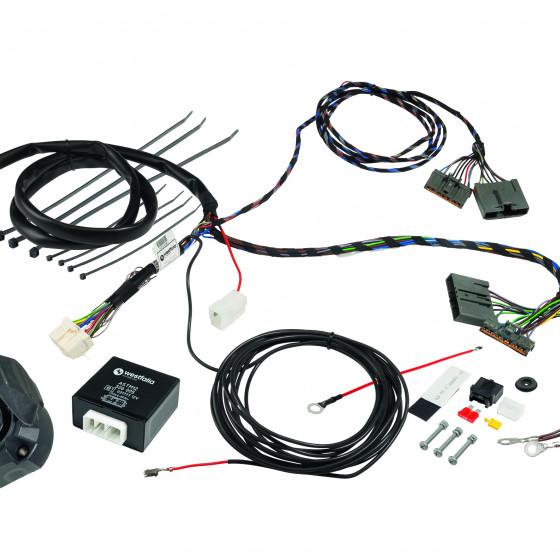 Wiring kit universal, 13 pins