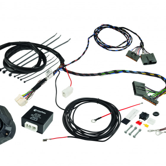 7 pins, Wiring kit vehicle-specific